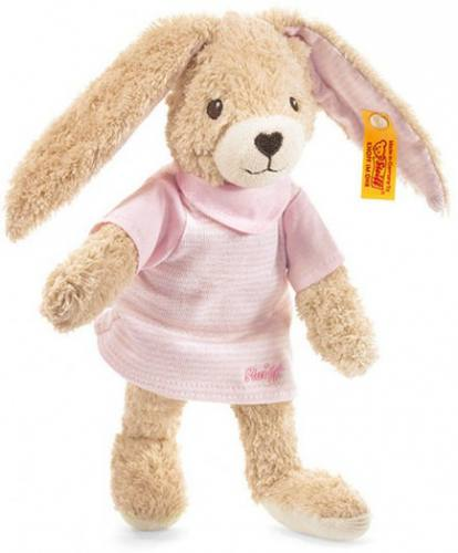 Steiff Hoppel Rabbit Pink Dress 237577