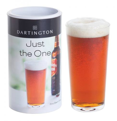 Just The One - Pint Beer Glass