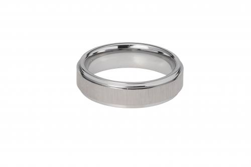 Tungsten Carbide Gents Ring 6mm