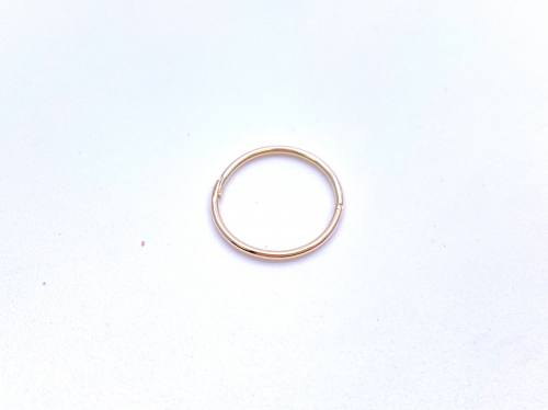 9ct Yellow Gold Sleeper Earring (Single) 12mm