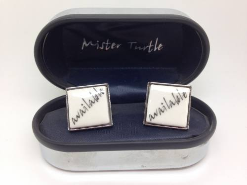 Cufflinks - Available Base Metal Cufflinks