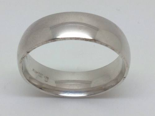 Silver Court Wedding 7mm Size Y