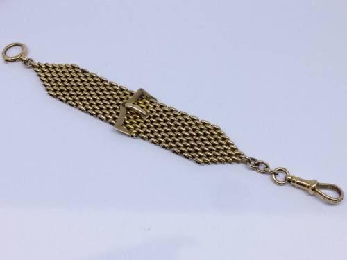 An Old Buckle Watch Chain