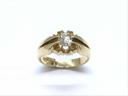 An Old Diamond Solitaire Ring