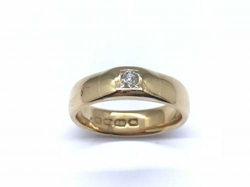 An Old 22ct Diamond Ring London 1916