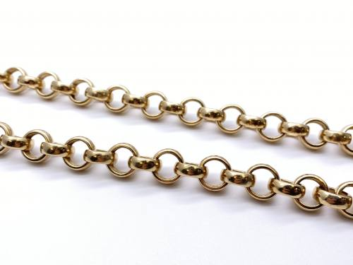 9ct Yellow Gold Heavy Belcher Chain