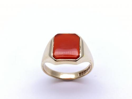 9ct Yellow Gold Cornelian Ring