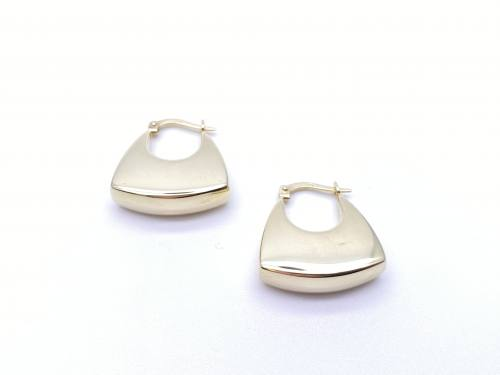 9ct Yellow Gold Handbag Earrings