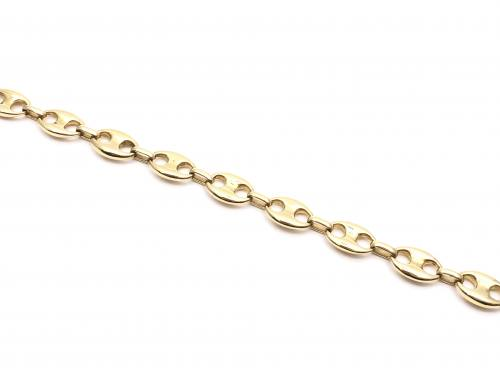 18ct Yellow Gold Marine Bracelet