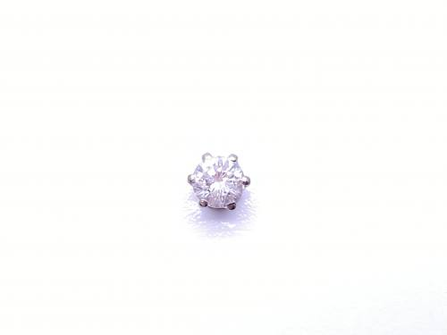 Diamond Stud Earring (Single)