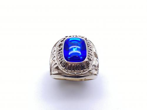Genuine American Blue College Ring