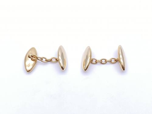 Marquise Shaped Cufflinks