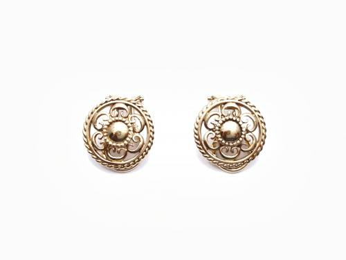9ct Yellow Gold Clip-On Earrings