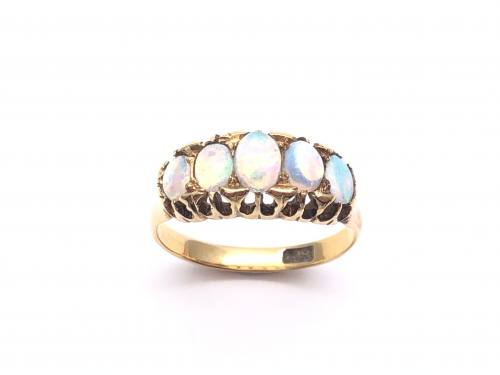 Opal 5 Stone Ring