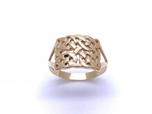 9ct Yellow Gold Celtic Ring