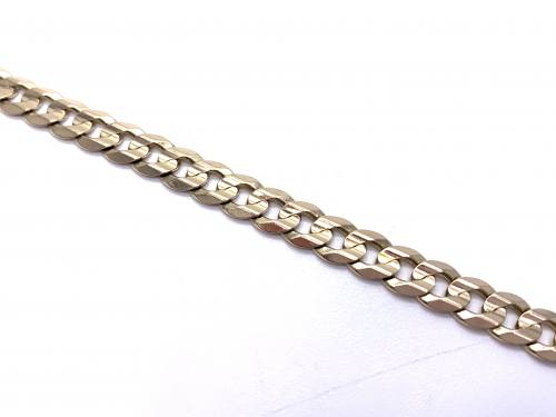9ct Yellow Gold Curb Bracelet