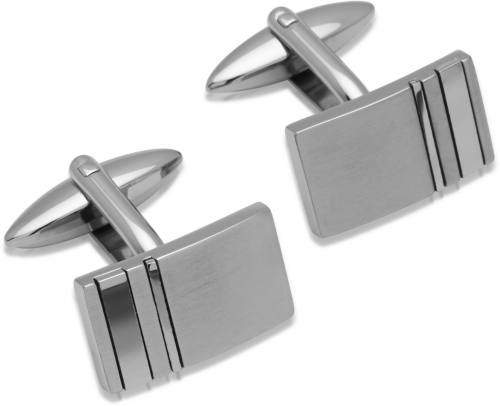 Stainless Steel Matt/Polished Cufflinks