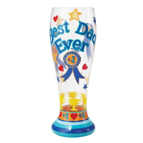 Lolita - Best Dad Ever Beer Glass PIL-5533A