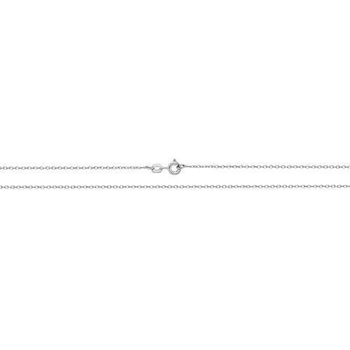 Silver Open Rolo Chain 16 Inch